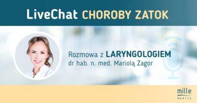 Mariola Popko-Zagor, choroby zatok live chat